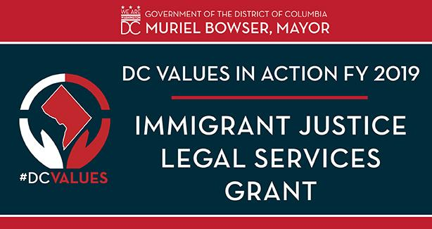 FY 2019 Immigrant Justice Legal Services Grant