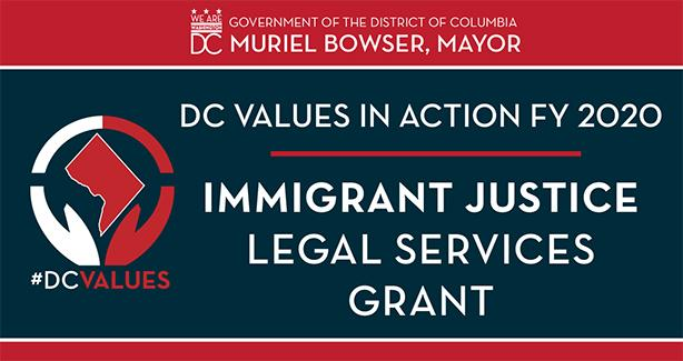 FY 2020 Immigrant Justice Legal Services Grant Program