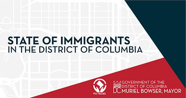 State of Immigrants in the District of Columbia
