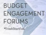 Budget Engagement Forums